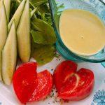 塩麹のヘンプマヨネーズ(サラダ仕立て)