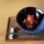 完熟トマトのヘンプオイル&マスタード和え