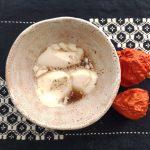 ヘンプミルクの豆花風<br />~黒糖生姜シロップをかけて~